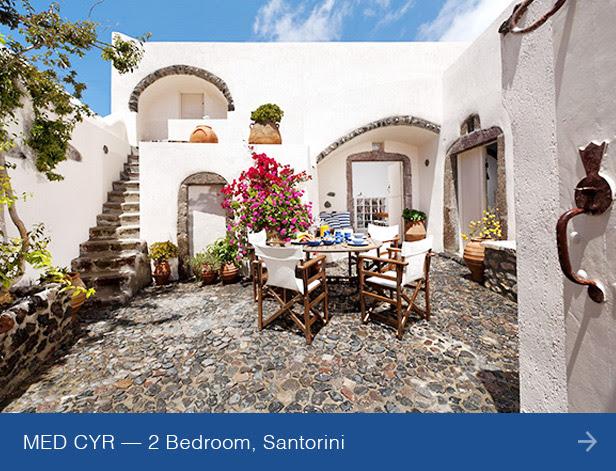 Villa MED CYR, Santorini
