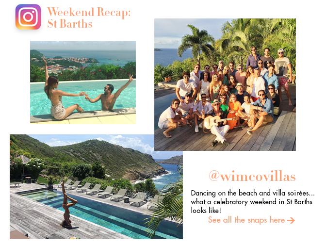 Insta Weekend Recap: St Barths