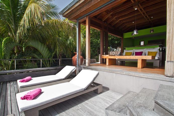 Villa WV BAY, 2br, Pointe Milou