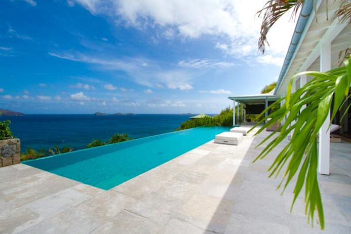 Oceanfront villa in st. jean St. Barts, vacation home, vacation rental