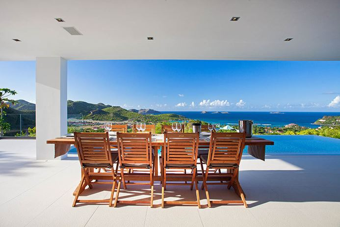 Oceanfront villa in St. Jean St. Barths, vacation home, vacation rental