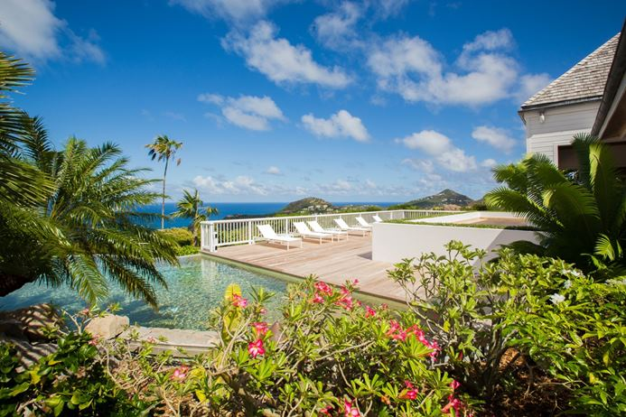 Oceanfront villa in Lurin St. Barts, vacation home, vacation rental