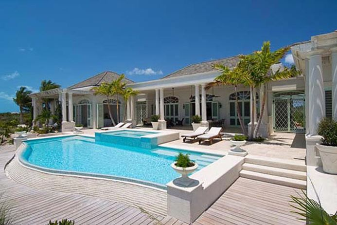 Villa IE SHA, 5br, Grace Bay Beach