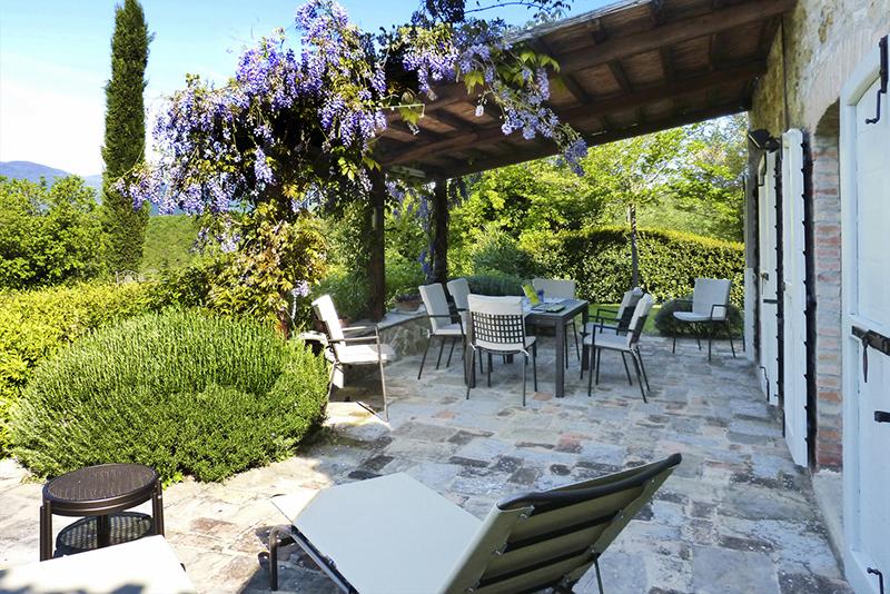 Villa HII NTI, 4br, Niccone Valley