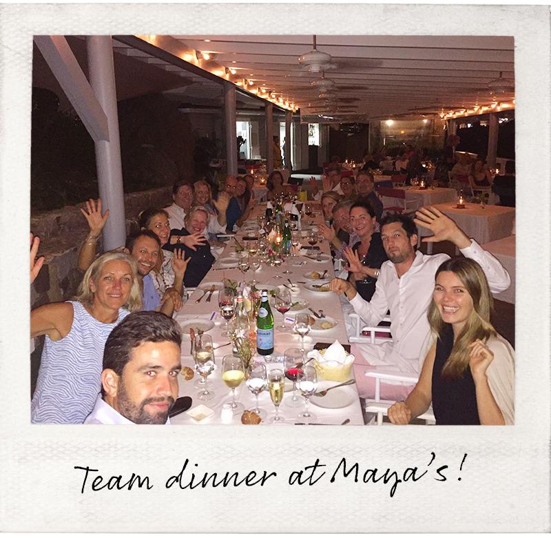The WIMCO Team at Maya's