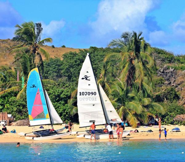 Cruise to Pinel Island