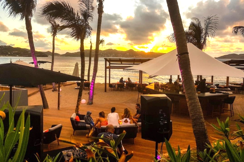 Mango Beach Club, St. Barths restaurant