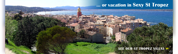 Wimco Villas in St Tropez