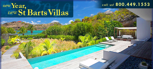 New Year, New St. Barts Villas