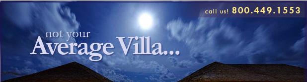 Not your Average Villa...