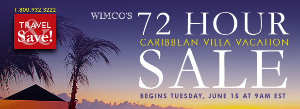 Wimco's 72 Hour Caribbean Villa Vacation Sale