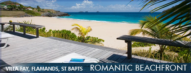 Romantic Beachfront Villas in the Caribbean