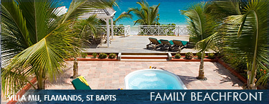 Family Beachfront Villas in the Caribbean
