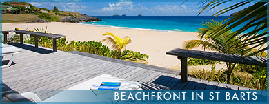 Beachfront in St Barts