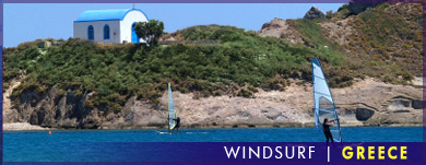 Windsurf, Greece