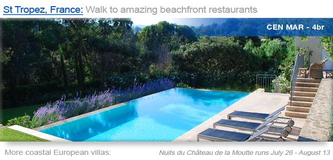 Villa CEN MER, St Tropez