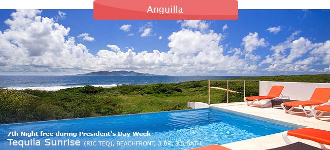 Villa Tequila Sunrise, Anguilla, 3br