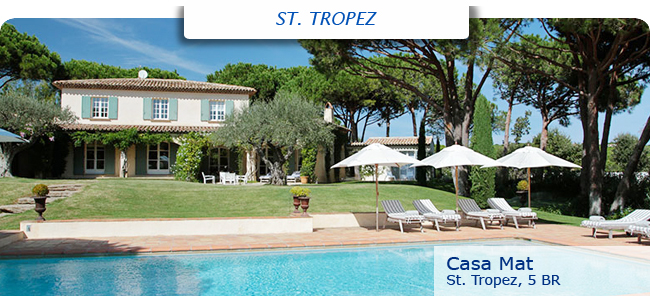 Villa Casa Mat, 5br, St. Tropez