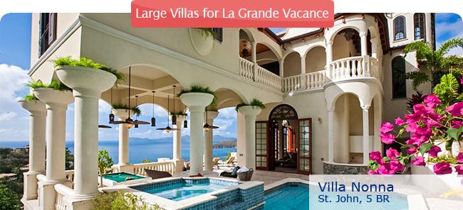 Villa Nonna, 5 br, St. John