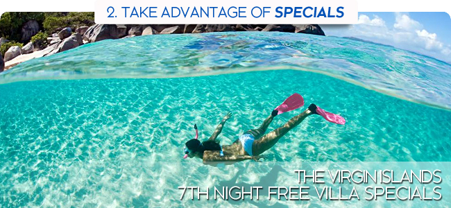 Virgin Islands 7th Night Free Specials