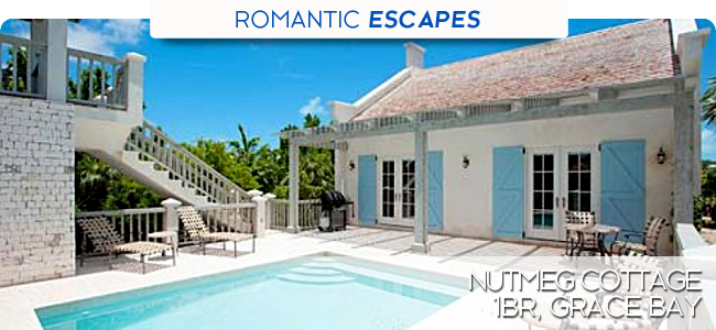 Nutmeg Cottage, 1br, Grace Bay