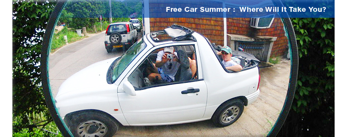 Free Car Summer in St Barts