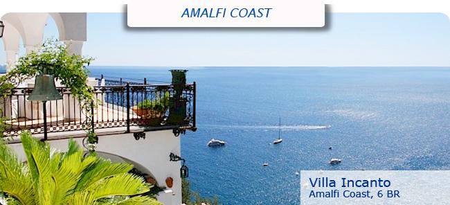 Villa Incanto, 6 br, Amalfi Coast