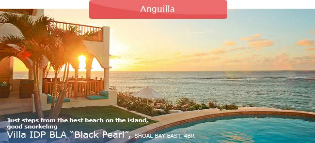 Villa IDP BLA Black Pearl, Anguilla, 4BR