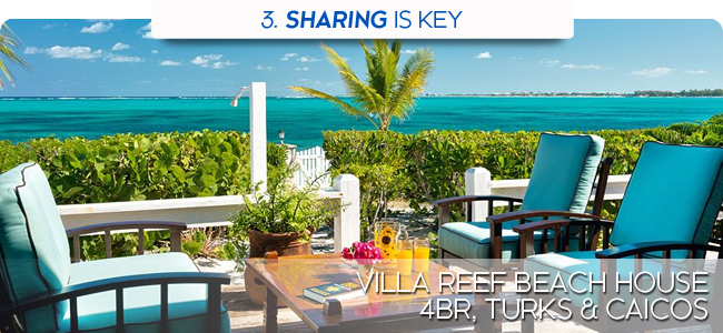 Villa Reef Beach House, 4 br, Turks and Caicos