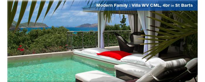 Villa WV CML, St Barts
