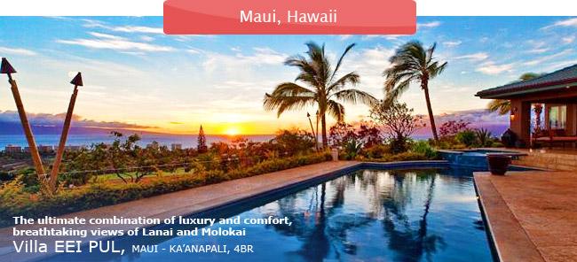 Villa EEI PUL, Maui, 4BR