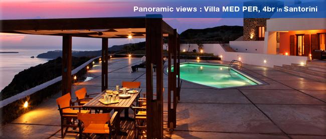 Villa MED PER, Santorini, Greece
