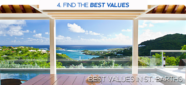 Best Values in St. Barths