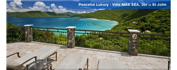 Villa MAS SEA, St John