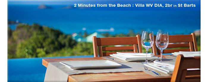 Villa WV DIA, St Barts