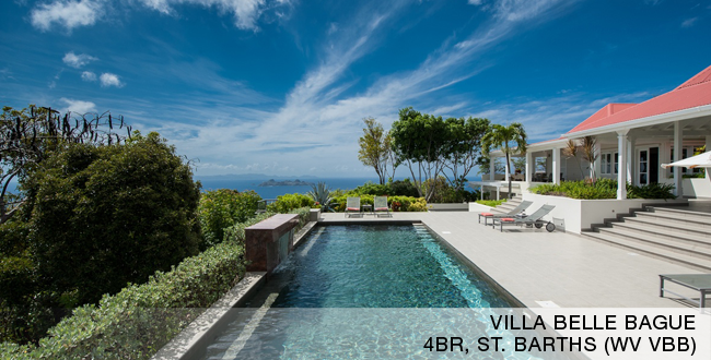 Villa Belle Bague, Colombier, St. Barths
