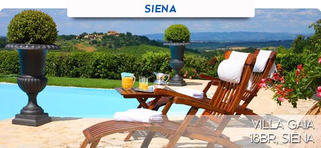 Villa Gaia, 18br, Siena
