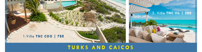 WIMCO's Turks and Caicos Villas