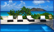 NEW 2 Bedroom on the Beach, Villa VDD, Flamands Beach St Barts