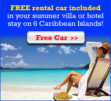 St Barts Free Car Summer