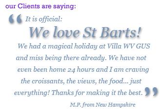 Villa WV GUS, St Barts