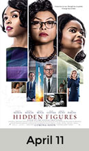 Hidden Figures April 11th