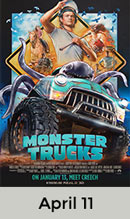 Monster Trucks April 11th