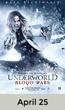 Underworld: Blood Wars April 25th