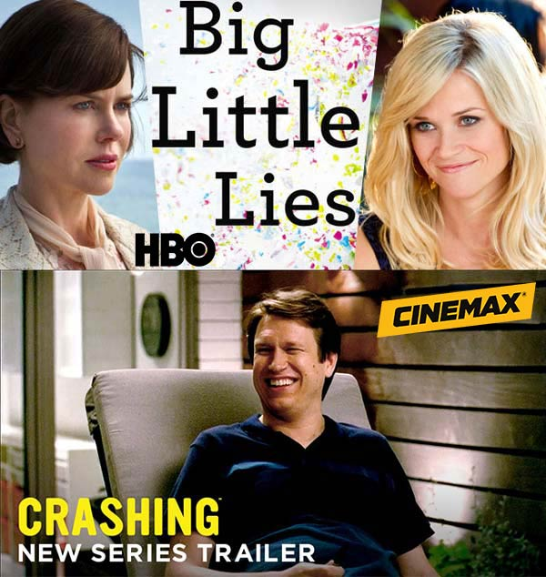 Crashing and Big Little Lies