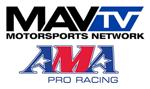MAVTV and AMA logos