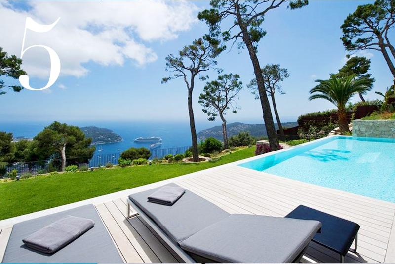 Villa FRA VIE, 5BR, Cap Ferrat