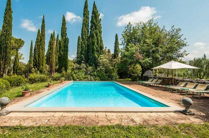 Villa SAL FON, 4br, Montalcino