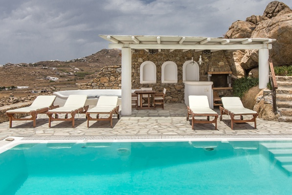 Villa Super Paradise Two, 3br, Mykonos