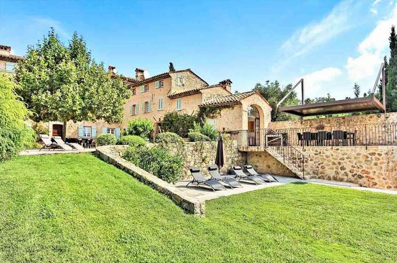 Villa YNF BAS, 6br, Grasse/Cannes